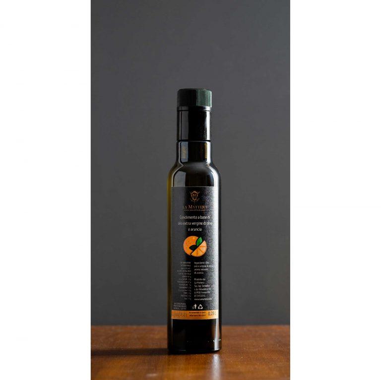Olio Extra Vergine, Frantoio, Vini Marchigiani, Miele - 2020 shop condimento olio aromantizzato la mattera arancia scaled